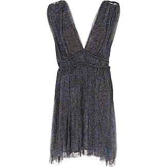 Dress for Women, Evening Cocktail Party On Sale, Black, linen, 2017, FR 34 - IT 38 Isabel Marant