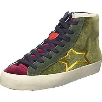 ISHIKAWA - Zapatillas de Piel para hombre verde Size: 39 JPns09koN