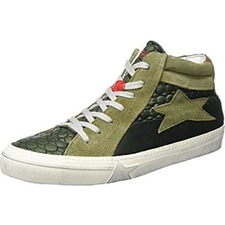 ISHIKAWA - Zapatillas de Piel para hombre verde Size: 39 vZRJm