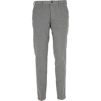 Pants for Men On Sale, Brown Melange, Cotton, 2017, 32 34 J.W. Brine