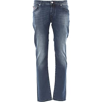Jeans On Sale, Denim Blue, Cotton, 2017, US 30 - EU 46 US 31 - EU 47 US 32 - EU 48 US 34 - EU 50 US 35 - EU 51 US 36 - EU 52 US 38 - EU 54 Jacob Cohen