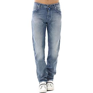 Pants for Men On Sale, Navy Blue, Cotton, 2017, US 34 - EU 50 US 36 - EU 52 Jacob Cohen