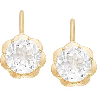 Jamie Wolf Mosaic Hexagon Drop Earrings with Blue Chalcedony & White Diamonds o46oO8POYm