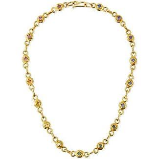 Jean Mahie Cadene 25 22K Yellow Gold Link Necklace, 17