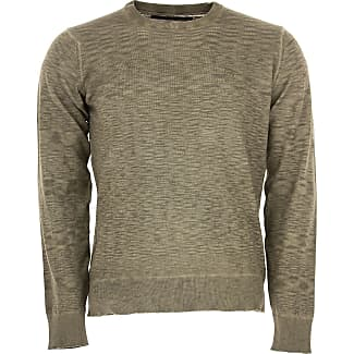 Sweater for Men Jumper On Sale, Anthracite Grey, Cotton, 2017, L M S XL Jeckerson