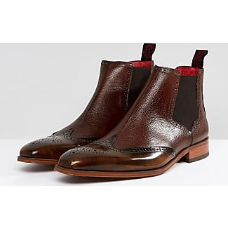 Jeffery Bottes Ouest Capone Brogue Chelsea En Tan Tan - YZeb7ZAVT