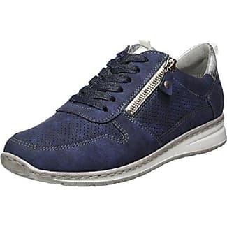 Jenny Sapporo - Chaussures Femmes, Bleu (indigo, Silber), 38 Eu