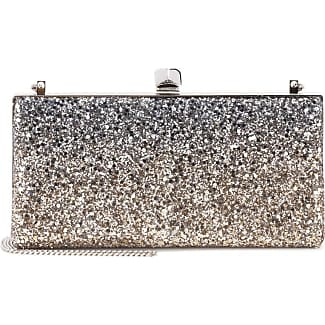 Exclusive to mytheresa.com - Celeste glitter clutch Jimmy Choo London Sale Websites Outlet Lowest Price Discount For Cheap Clearance Cheapest 2018 Discount B2I4TKX