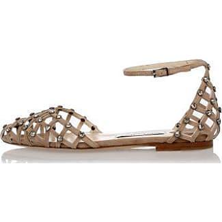 Leather Crystal Studs DAVINIA Sandals Spring/summer Jimmy Choo London AMQiO