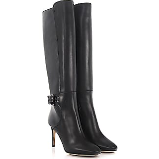 Knee Boots Darwin 85 leather black Jimmy Choo London aKCR5iDd5