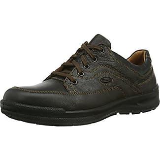 Jomos Carrera - zapatos con cordones de cuero hombre, color marrón, talla 45