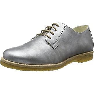 Hedvig Végétalien, Derby De Jonny Chaussures À Lacets Pour Les Femmes, Silber (argent), 37 Eu