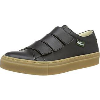 John W. Shoes Sigourney, Zapatillas de Estar Por Casa para Hombre, Negro-Negro (Negro), 42 UE
