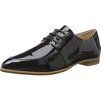 London 15p68-1 Kid Suede, Zapatos De Cordones Derby para Mujer, Negro, 37 EU Buffalo