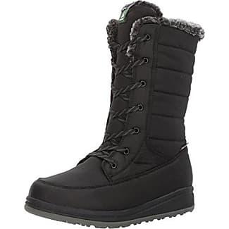 Kamik RevelG RevelG-W - Botas de nieve de cuero para mujer, color negro, talla 37