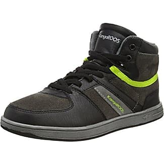 Kangaroos Backyard - Zapatillas, color Black/Lime 580, talla 27