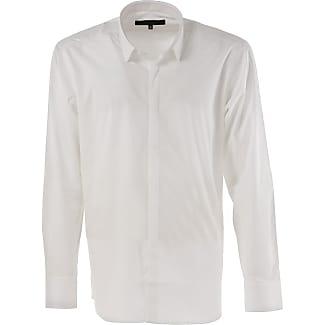 Shirt for Men On Sale, White, Cotton, 2017, 15.5 Karl Lagerfeld