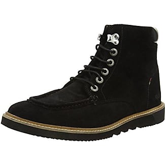 Kickers Bosley Lthr Am - Escarpines para Hombre, Color Noir (Black), Talla 45