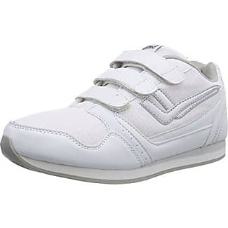 Killtec KP 720 Velcro, Zapatillas de deporte Mujer, Plateado (Blanco/Plateado/00197), 37 EU