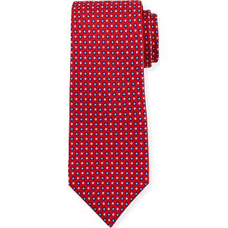 Ties On Sale, Bright Orange, Silk, 2017, one size Kiton