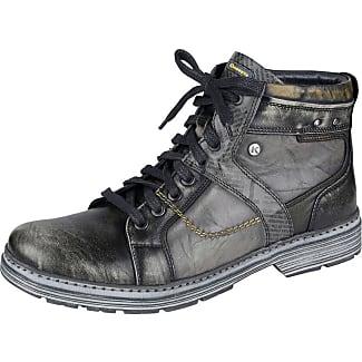 Chaussure À Lacets Krisbut Grise Combinées ko5xvyG