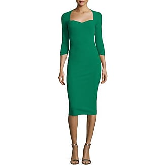 Dress for Women, Evening Cocktail Party, Anglomania, Green, Viscose, 2017, 10 8 Vivienne Westwood
