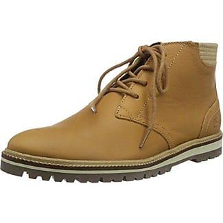Lacoste Ampthill Chukka 416 1, Zapatillas de Estar por Casa para Mujer, Marrón (DK BRW 176), 35.5 EU