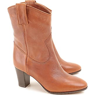 Boots for Women, Booties On Sale, Leather Brown, Leather, 2017, 4.5 6.5 8 8.5 L'autre Chose