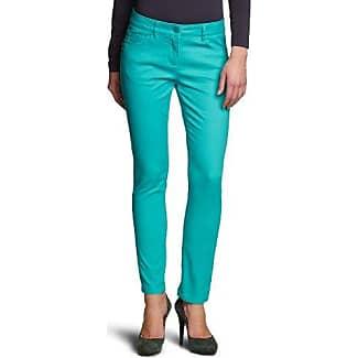 Surplus Pantalón chino para mujer, talla W36/L31 (Herstellergröße: 42) - talla alemana, color turquesa (petrol)