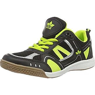 Lico 590004, Chaussures Hommes, Multicolore (schwarz / Citron), 38 Eu