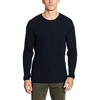 Knit with Speciel Details, Jersey para Hombre, Azul (Navy Navy), Medium Lindbergh