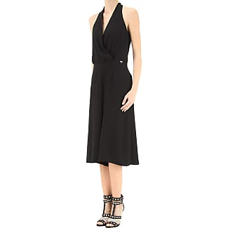 Dress for Women, Evening Cocktail Party On Sale, Black, Cotton, 2017, 12 14 Liu Jo
