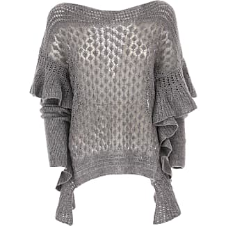 Sweater for Women Jumper On Sale, Grey, viscosa, 2017, 10 12 8 Liu Jo