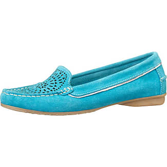Mocassin Turquoise Boucle Liva v5GmuzM