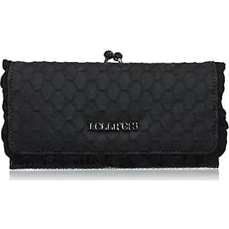 Lollipops Alix Glitter Xl Bill, Womens Wallet, Noir (Black), 5x12x22 cm (W x H L) Lollipops