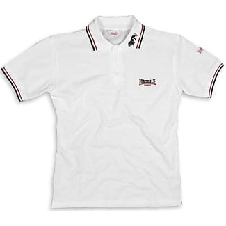 Gatley - Polo Hombre, Blanco (Weiß), Large (Talla del Fabricante: L) Lonsdale