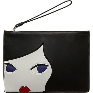 Handbags, Midnight Sparkie Blue, Polycarbonate, 2017, one size Lulu Guinness