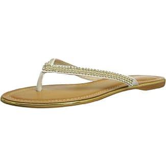 JLH629, sandales mode femme - Blanc - blanc, 36Lunar