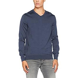428900, Jersey para Hombre, Azul (Nimes Blue 378), Large (Talla del Fabricante: 52) Maerz