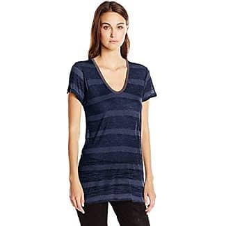 Scotch & Soda Maison - Camiseta de manga corta para mujer, color gelb (15), talla 42