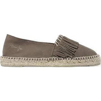 Manebí Woman Pom Pom Embellished Suede Espadrilles Midnight Blue Size 36 Manebì Cheap Sale With Paypal Cheap For Nice lCIoJCB26D