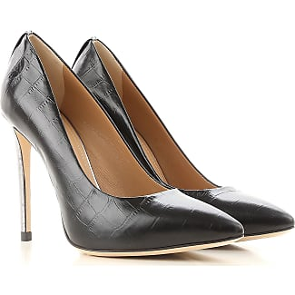 Zapatos de Tacón de Salón Baratos en Rebajas, Negro, Piel, 2017, 36 37 38 40 Marc Ellis