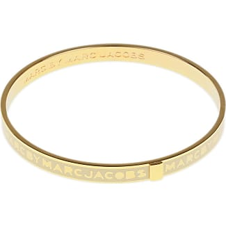 Bracelet for Women, Ochre, Stainless Steel, 2017, One Size Marc Jacobs