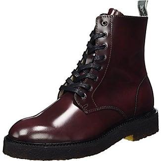 Marc O'Polo Lace Flatheel Bootie 70814226301124, Botas Militares para Mujer, Braun (Whiskey), 41 EU amazon-shoes el-negro Cordones
