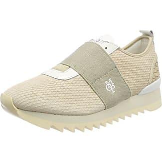 Sneaker 70713913501114, Zapatillas para Mujer, Beige (Cream), 39 EU Marc O'Polo