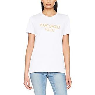 Marc O'Polo Denim 743225951403, Camiseta para Mujer, Blanco (White 100), L