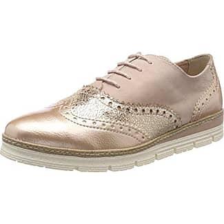 Marco Tozzi 23705, Chaussures Richelieu Des Femmes De Laceup, Argent (peigne D'argent), 38 Eu