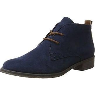Femmes Marco Tozzi 25101 Desert Boots - Gris - 41 Eu 6x2kI2mv