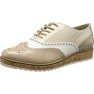 Marco Tozzi 23726, Chaussures Richelieu Des Femmes De Laceup, Argent (peigne D'argent), 40 Eu