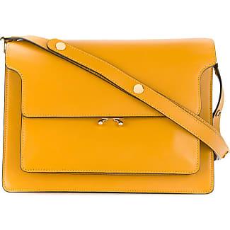 The Cheapest Mini Trunk bag - Yellow & Orange Marni Visit Sale Online Original Cheap Online Outlet Perfect KJH3v0g